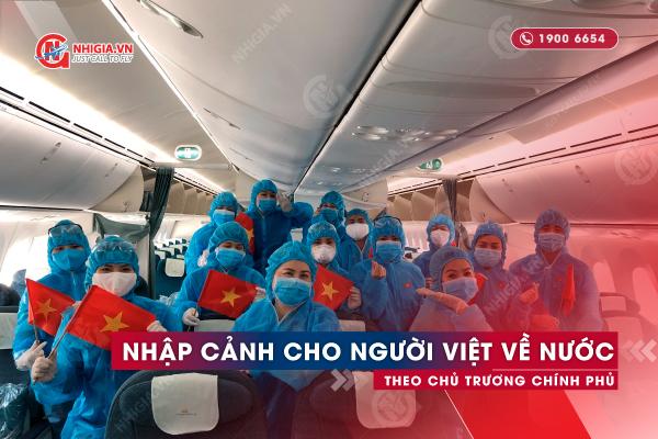 Nhập cảnh vào Việt Nam thời điểm dịch