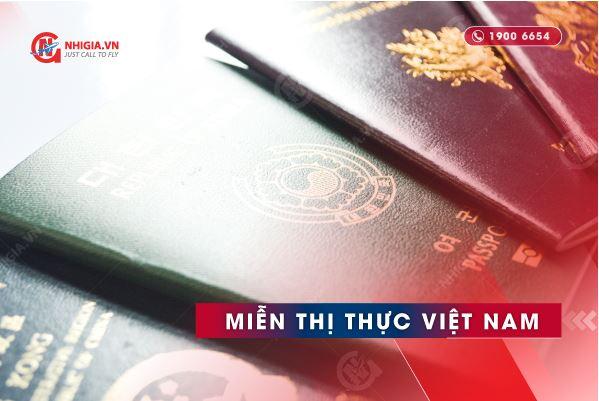 Các nước miễn visa Việt Nam