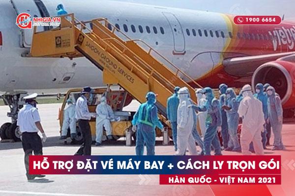 Hỗ trợ đặt vé máy bay nhập cảnh vào Việt Nam
