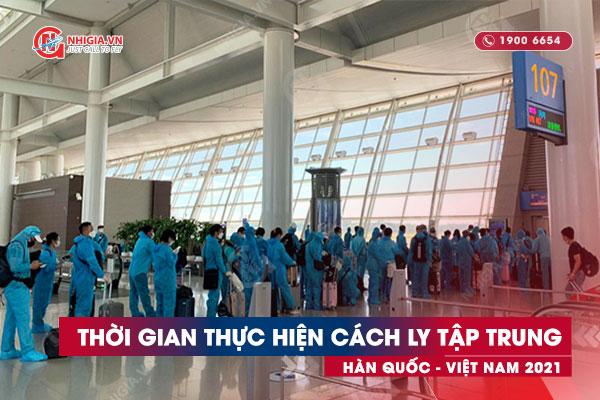 Thời gian cách ly khi nhập cảnh vào Việt Nam
