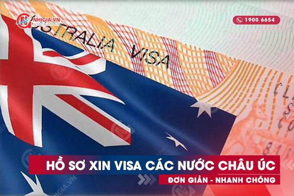 Hồ sơ xin visa châu Úc