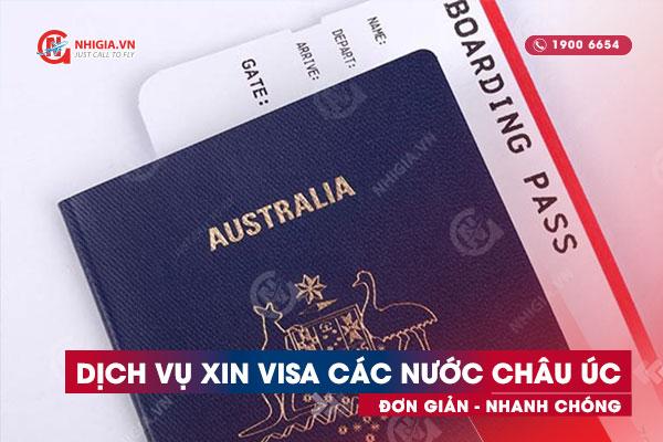 Dịch vụ xin visa châu Úc